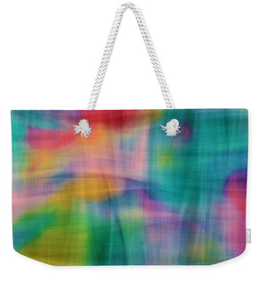 Threads That Bind Abstract - Weekender Tote Bag
