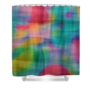 Threads That Bind Abstract - Shower Curtain