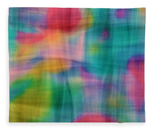 Threads That Bind Abstract - Blanket