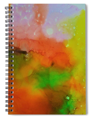 Through the Rain 2 - No Overlay - Spiral Notebook
