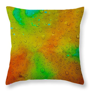 Through the Rain - Throw Pillow