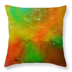 Through the Rain - No Overlay - Throw Pillow