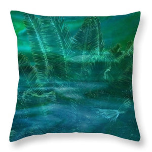 Whispers of Summer - Throw Pillow