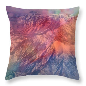Whispers of Winter - Throw Pillow