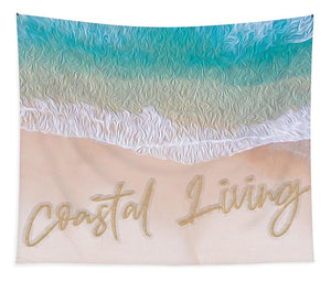 Writing in the Sand - Coastal Living - Tapestry