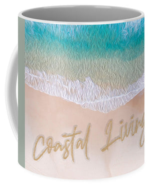 Writing in the Sand - Coastal Living - Mug