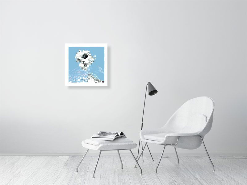 sophie - Hanging Creations wall art giclée print art for sale