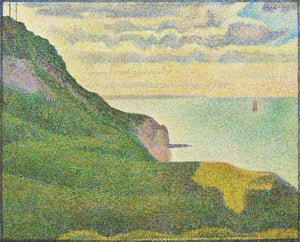 Georges Seurat - Seascape at Port-en-Bessin, Normandy - Hanging Creations wall art giclée print art for sale