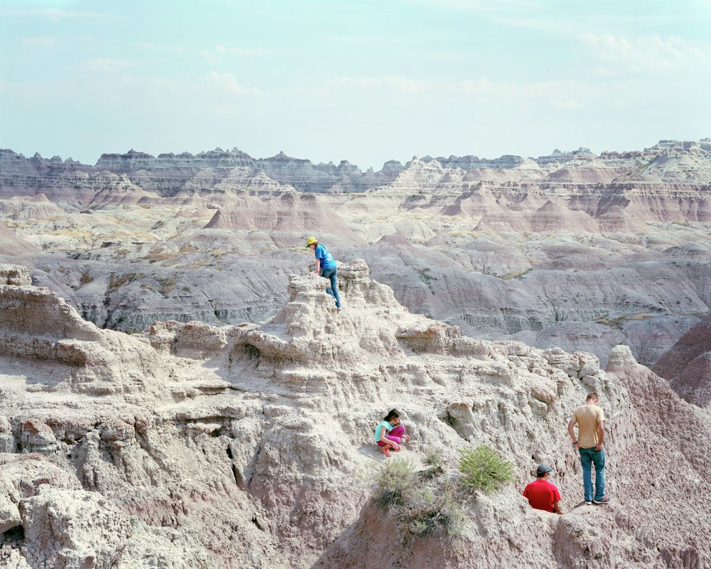 Badlands, South Dakota - Hanging Creations wall art giclée print art for sale