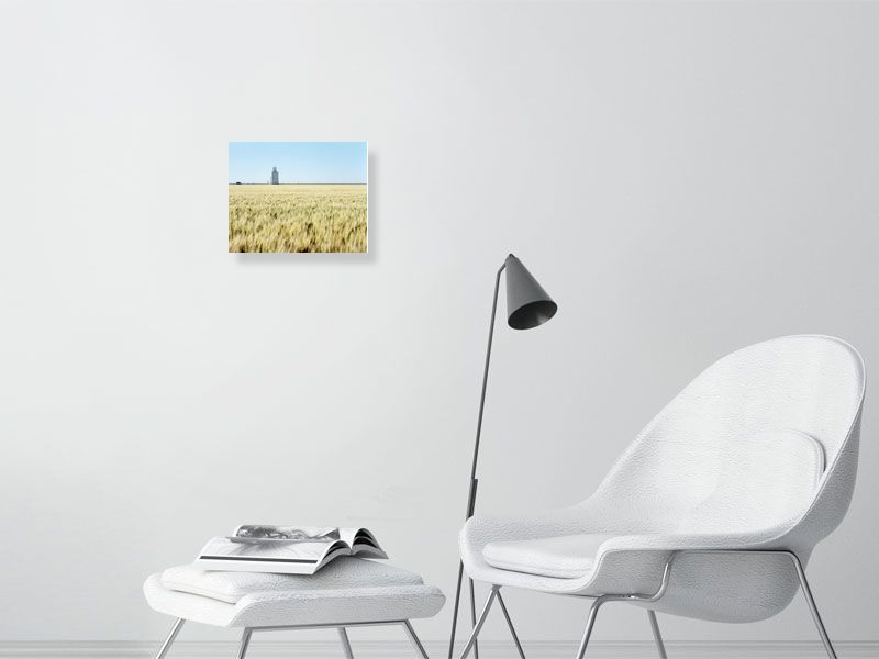 West of Horace, KS - Hanging Creations wall art giclée print art for sale