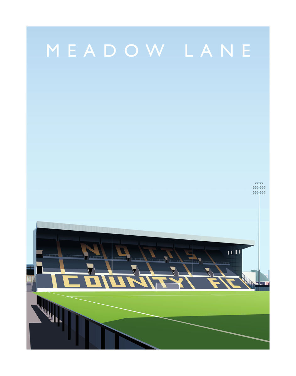 Meadow Lane - Hanging Creations wall art giclée print art for sale