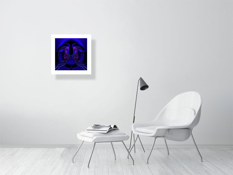 Abyss 505 - Hanging Creations wall art giclée print art for sale