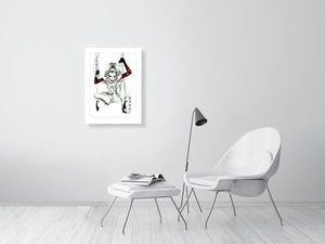 joker1 - Hanging Creations wall art giclée print art for sale