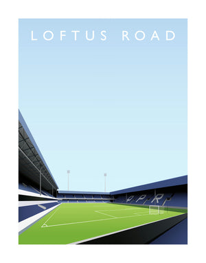 Loftus Road - Hanging Creations wall art giclée print art for sale