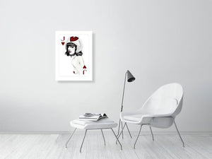 JACKofhearts - Hanging Creations wall art giclée print art for sale