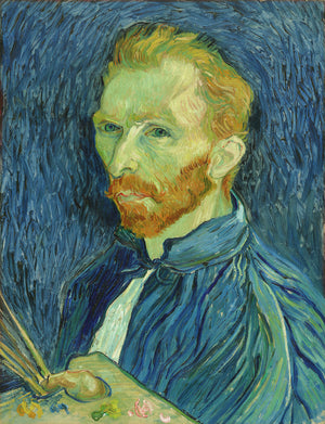 Vincent van Gogh - Self-Portrait - Hanging Creations wall art giclée print art for sale