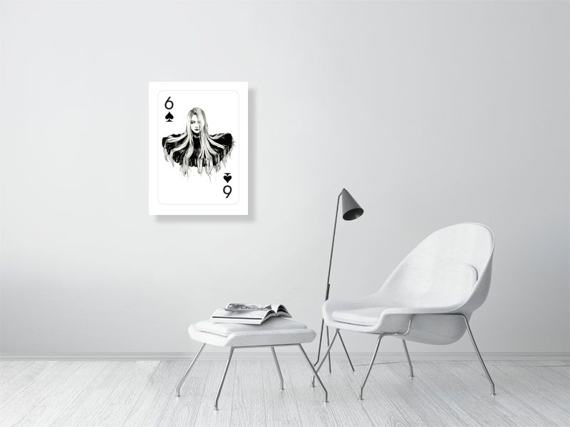 sixofspade - Hanging Creations wall art giclée print art for sale