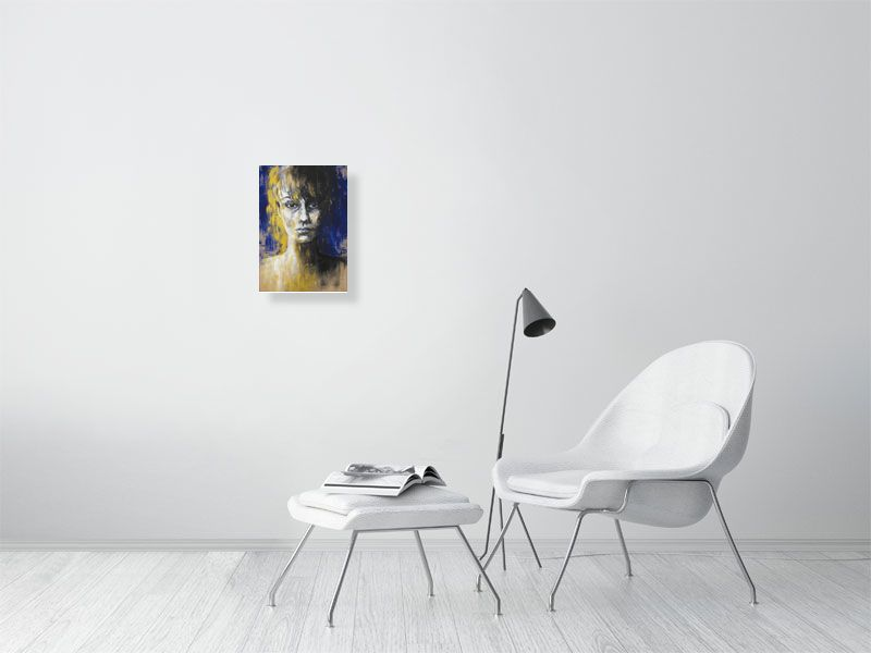 Ephemeral Presence - Hanging Creations wall art giclée print art for sale