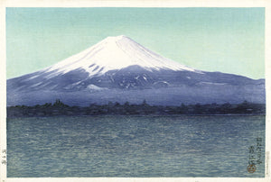 The Lake Kawaguchi - Watanabe Kako - Hanging Creations wall art giclée print art for sale