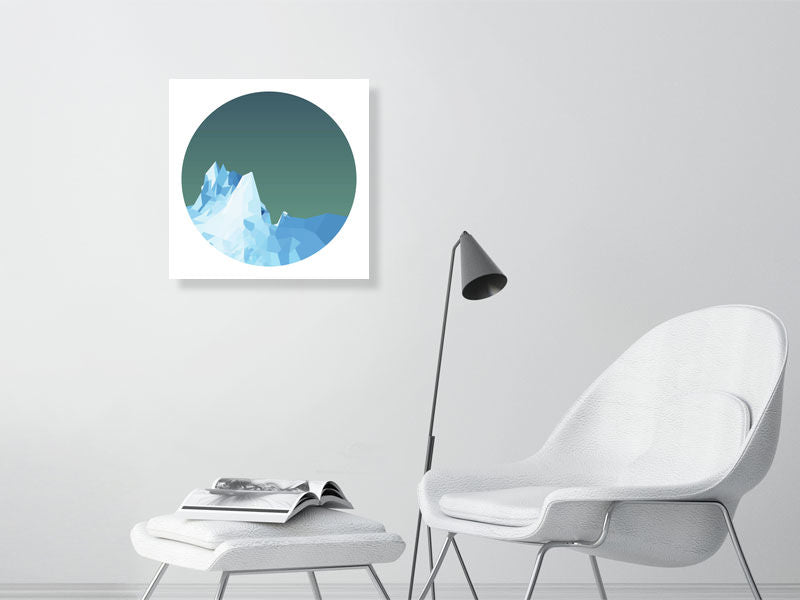 ICEBOAT 'Äì Midnight - 3 'Äì Giclee Print - Hanging Creations wall art giclée print art for sale