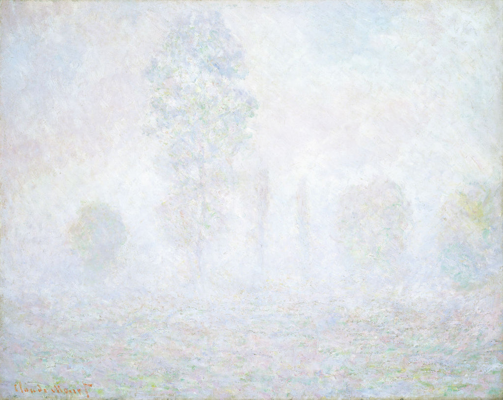 Claude Monet - Morning Haze - Hanging Creations wall art giclée print art for sale