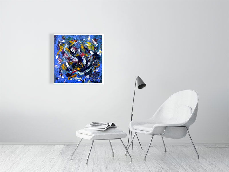 Untitled 3 - Hanging Creations wall art giclée print art for sale