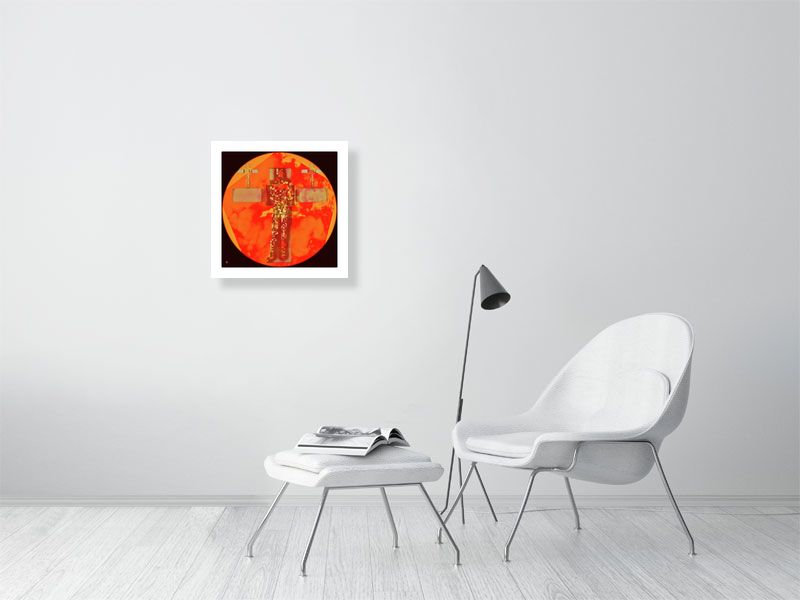 globe - Hanging Creations wall art giclée print art for sale