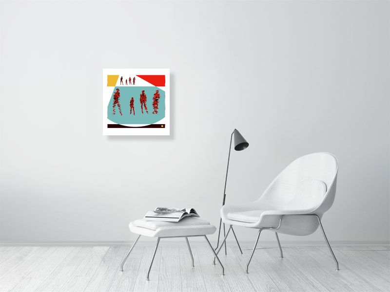 famille a - Hanging Creations wall art giclée print art for sale