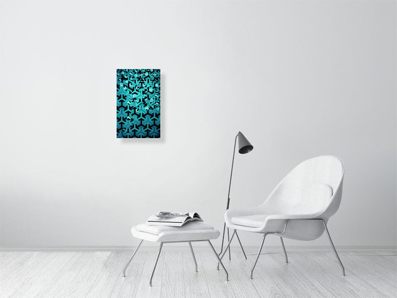 Turquoise Rising 1 - Hanging Creations wall art giclée print art for sale