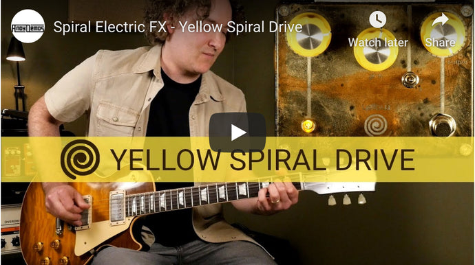 Andy Martin takes a Sunday drive with the Yellow Spiral Drive.