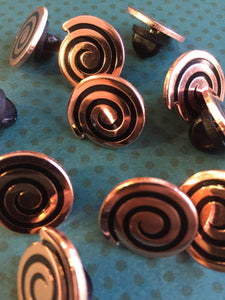 Copper Spiral Pin