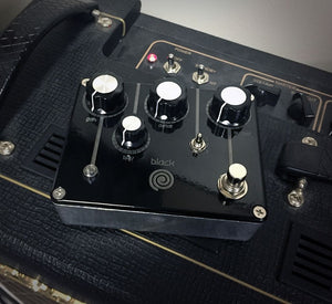 Black Spiral Fuzz in Cadillac Black Finish