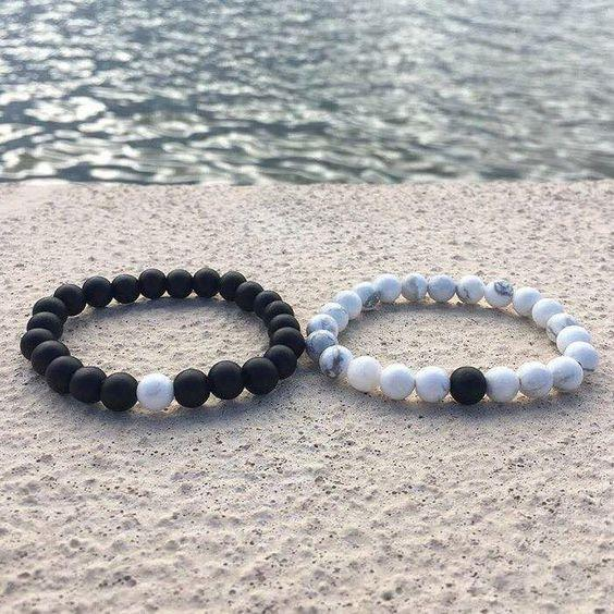 Be With Me Distance Bracelets (2pcs/set)