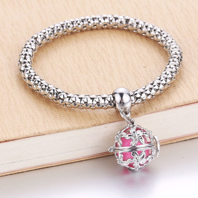Locket Bracelet Aromatherapy Essential Oil