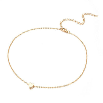 Beautiful Heart Choker Necklace Jewelry for her