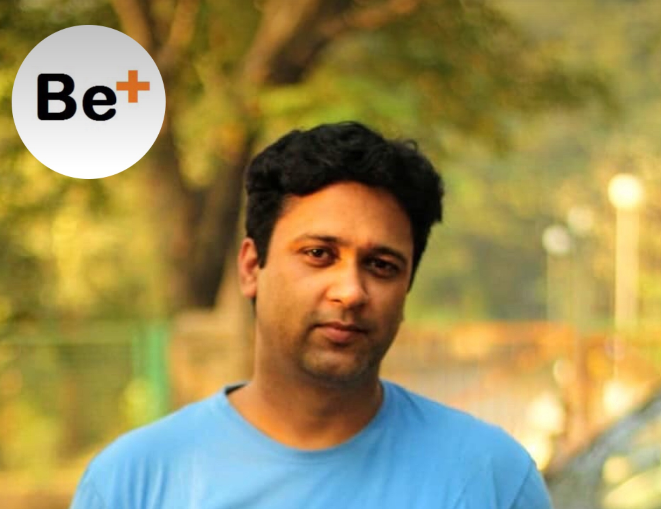 Sattuz founder sachin kumar interview on Be + media