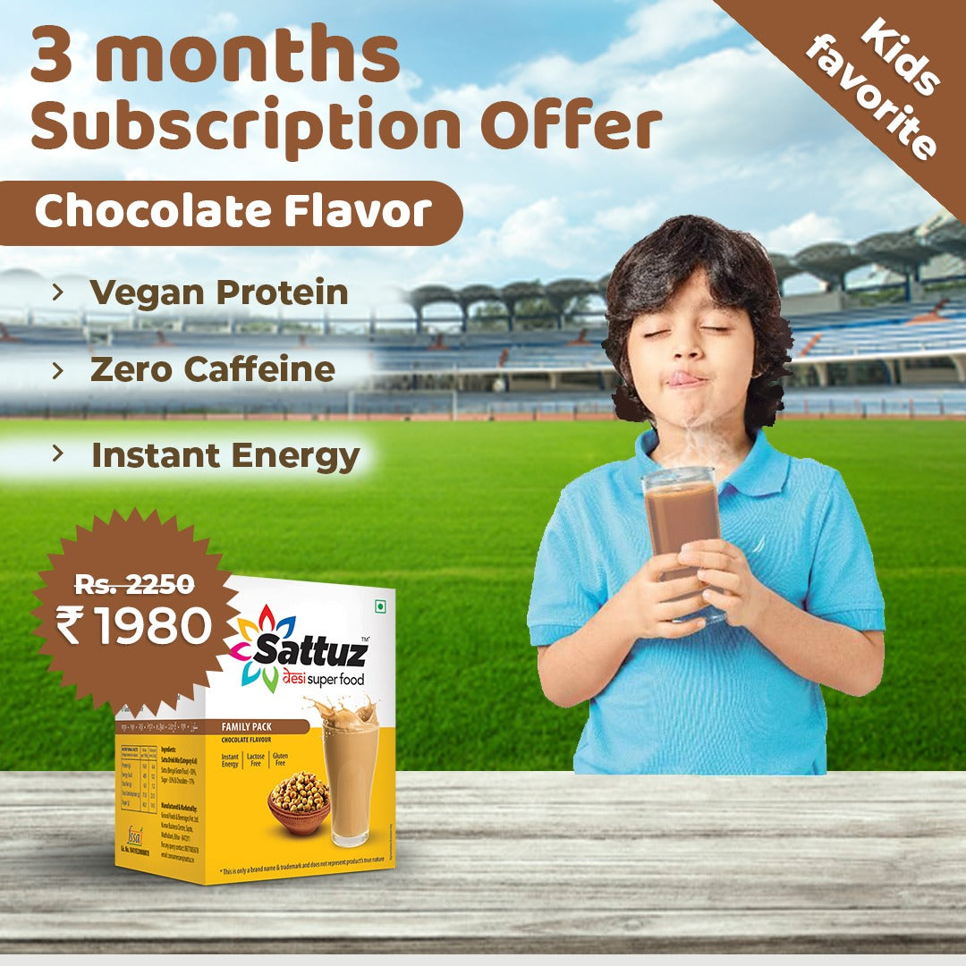 Sattuz Subscription Plan (Chocolate Flavour)