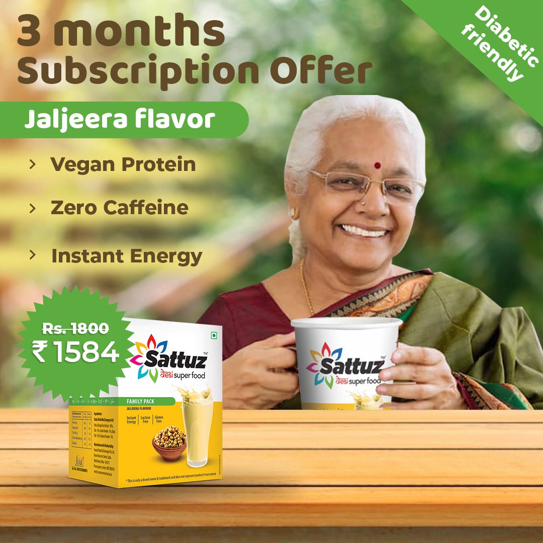 Sattuz Subscription Plan (Jaljeera Flavour)