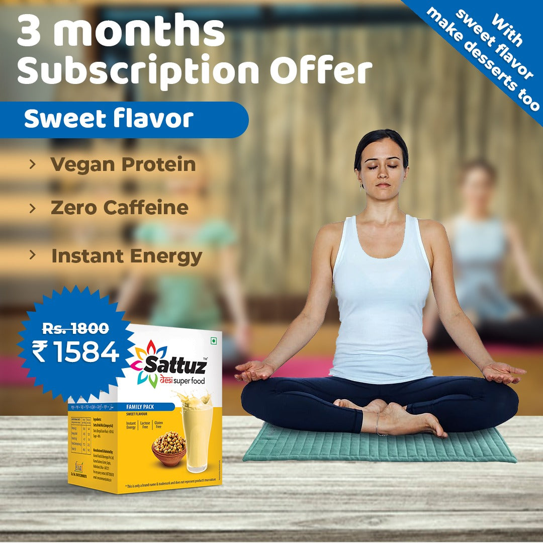 Sattuz Subscription Plan (Sweet Flavour)