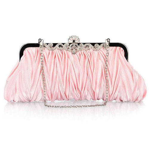 Pleats Design  Clutch Bag