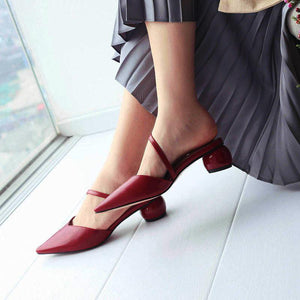 Fashion Sexy Pointed Wild Sandals And Slippers