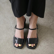 Load image into Gallery viewer, Fashion rough with open toe wild sandals and slippers