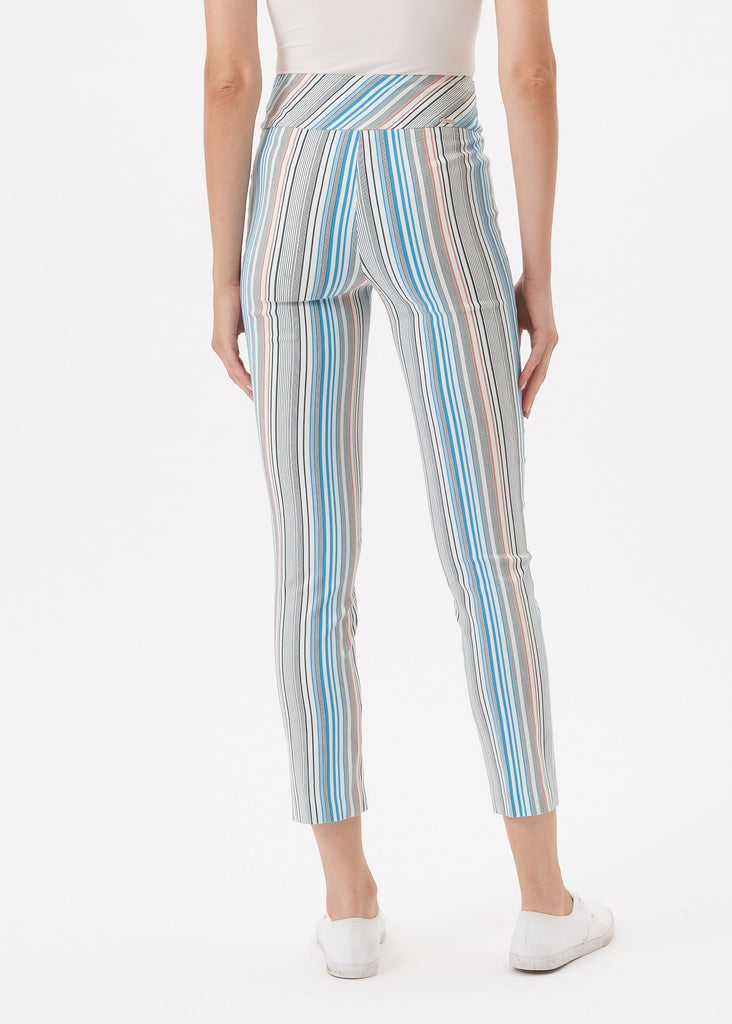 Up 67246 Techno slim leg Multi stripe