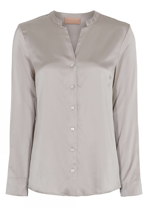 Gustav Florida classic  stretch shirt Beige