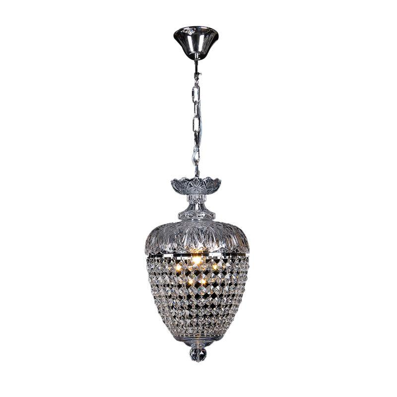 Lighting Inspiration Chopin 1Lt Crystal Chandelier Chrome