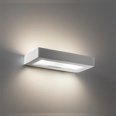 Domus BF-8284 Ceramic Frosted Glass 30cm Wall Light