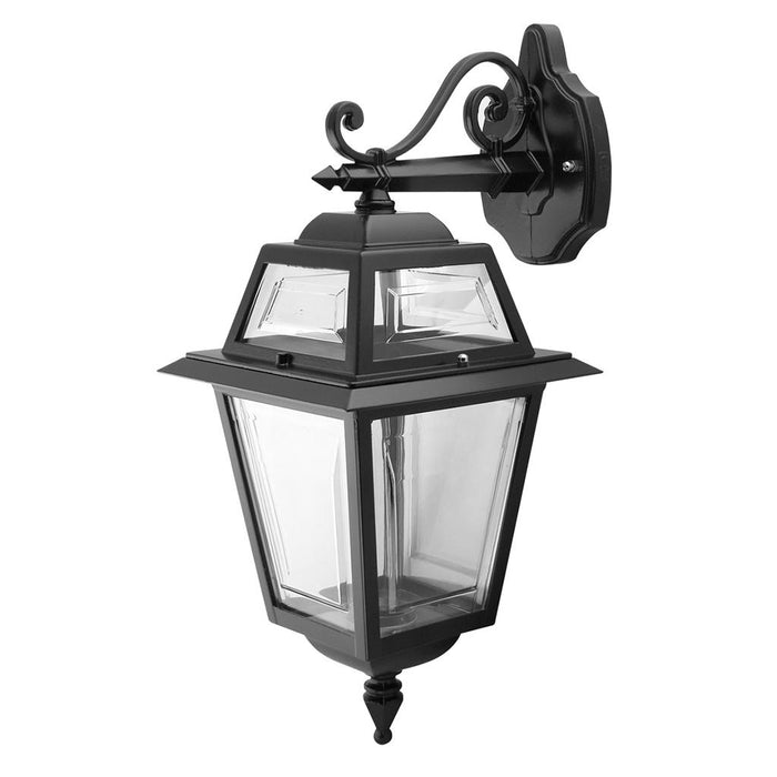 GT-272 AVIGNON DOWNWARD WALL LIGHT - BLACK FINISH / B22