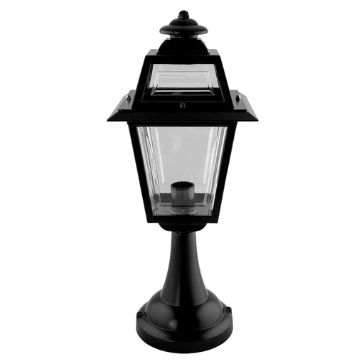GT-273 AVIGNON PILLAR MOUNT LIGHT - BLACK FINISH / B22