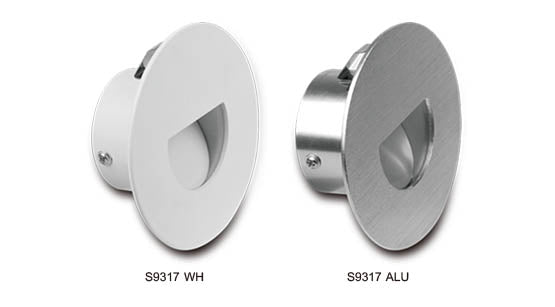 RECESSED ROUND 12V LED STEP/WALL LIGHT SUNNYLIGHTING