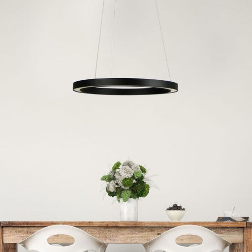 Oriel Lighting NEBULA.400 Modern LED Halo Pendant